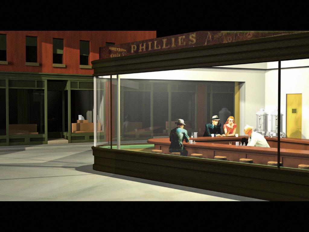 Lang her: Edward Hoppers u201cNighthawksu201d : davidgudelius.com