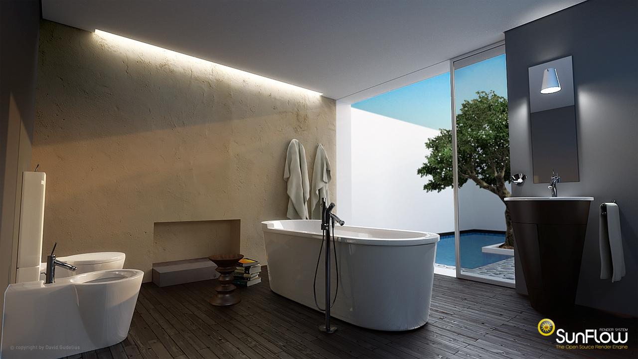 mediterranes badezimmer. Black Bedroom Furniture Sets. Home Design Ideas